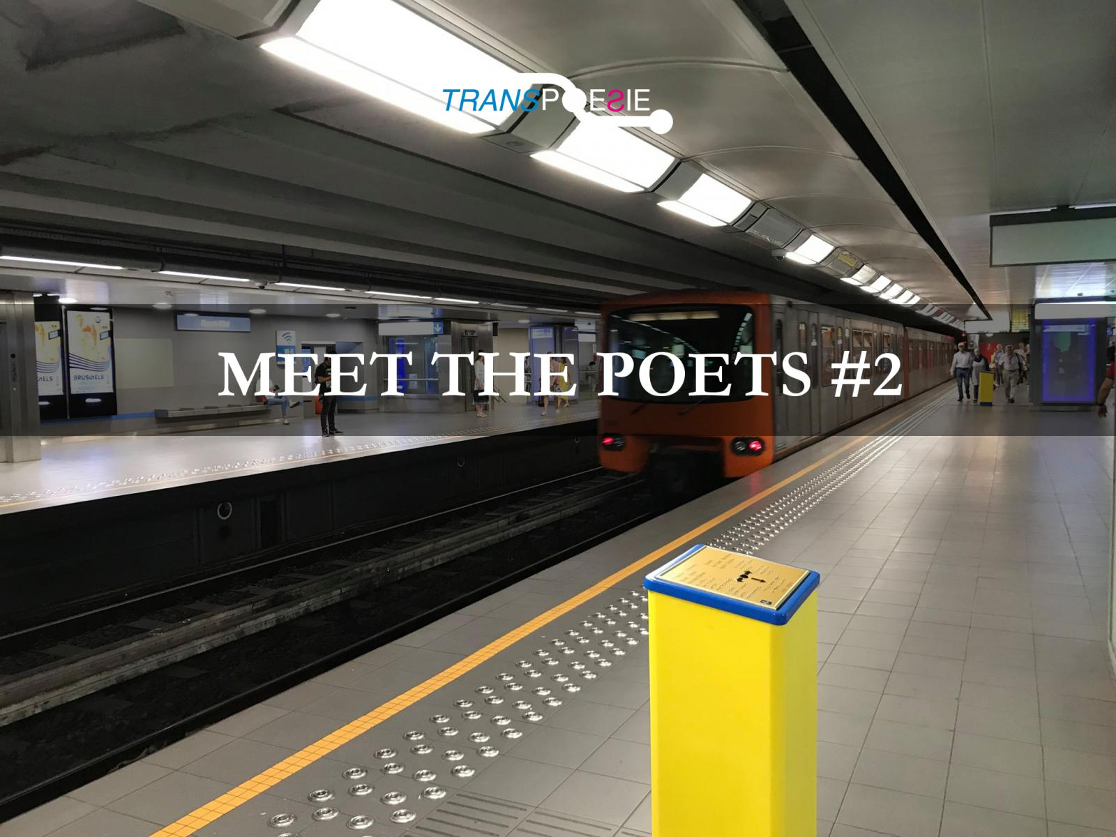 3 October 2019 | 7 PM | Maison du Livre - MEET THE POETS – #2