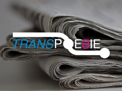 The 8th TRANSPOESIE poetry festival takes place from September 26 until October 11.