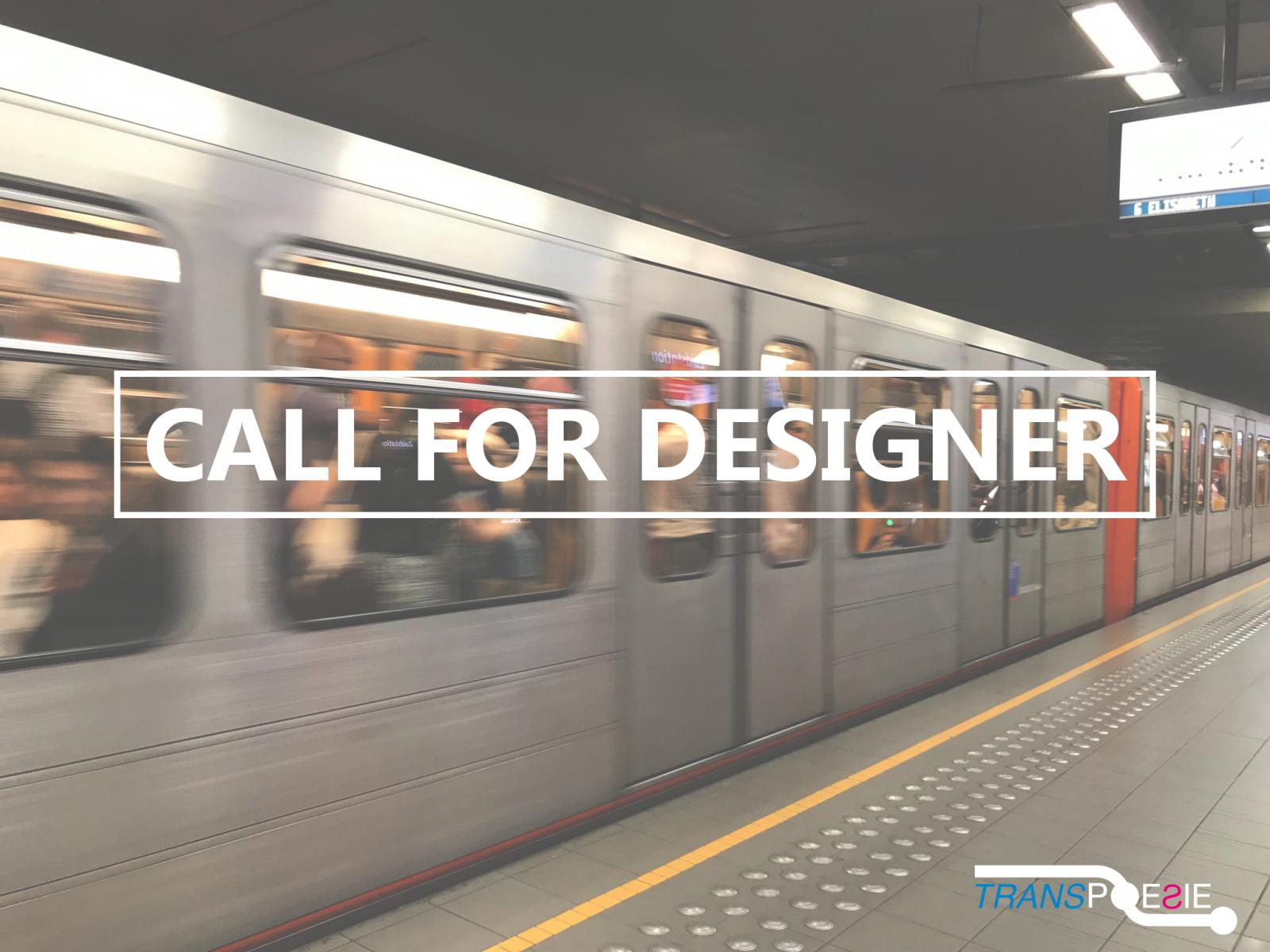 Open call for designers, students and graphic artists - Transpoesie 2020